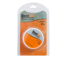 SOLDA ESTANHO 1.0MM 40G BESTFER